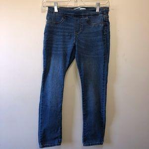 Old Navy Light Blue Girls Skinny Jeans Size 10-12